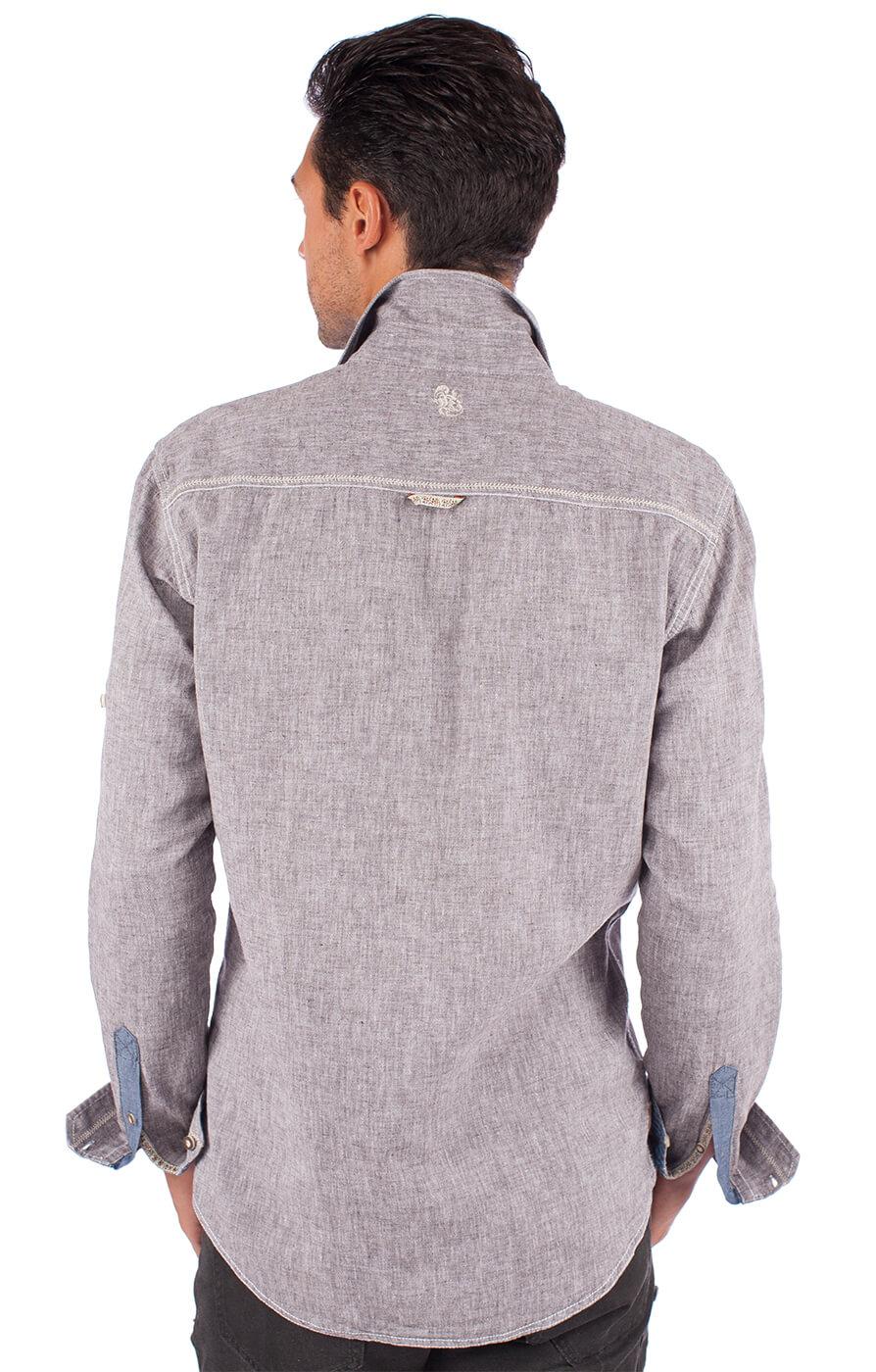 weitere Bilder von Trachtenhemd 92103 grau