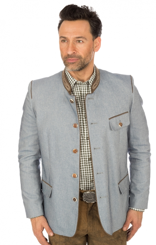 German traditional jacket blue