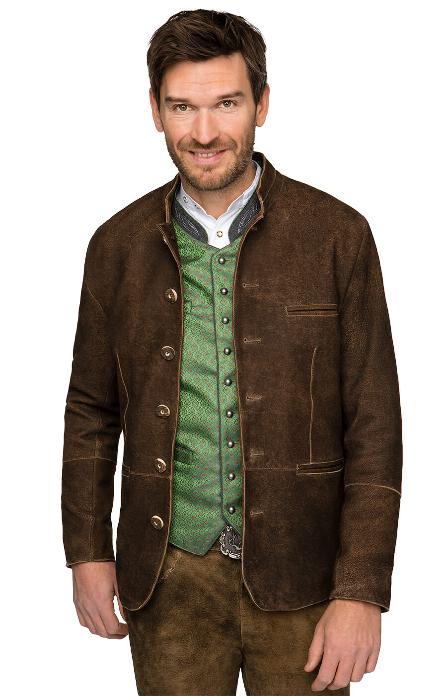 Traditional german cardigan WATZMANN biberantik von Stockerpoint