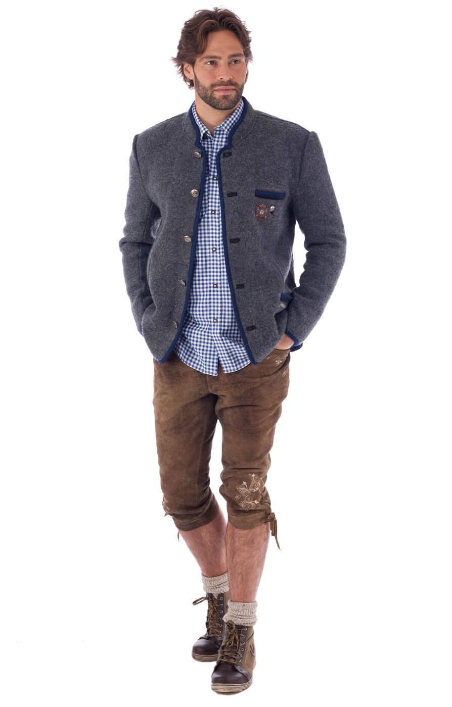 weitere Bilder von traditional jacket outdoor Birgel WJ grey denim
