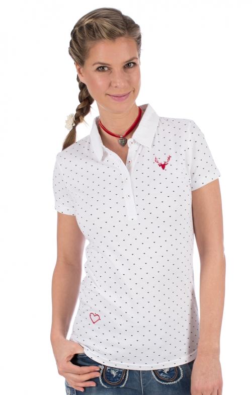 Trachten Shirt RUTH white