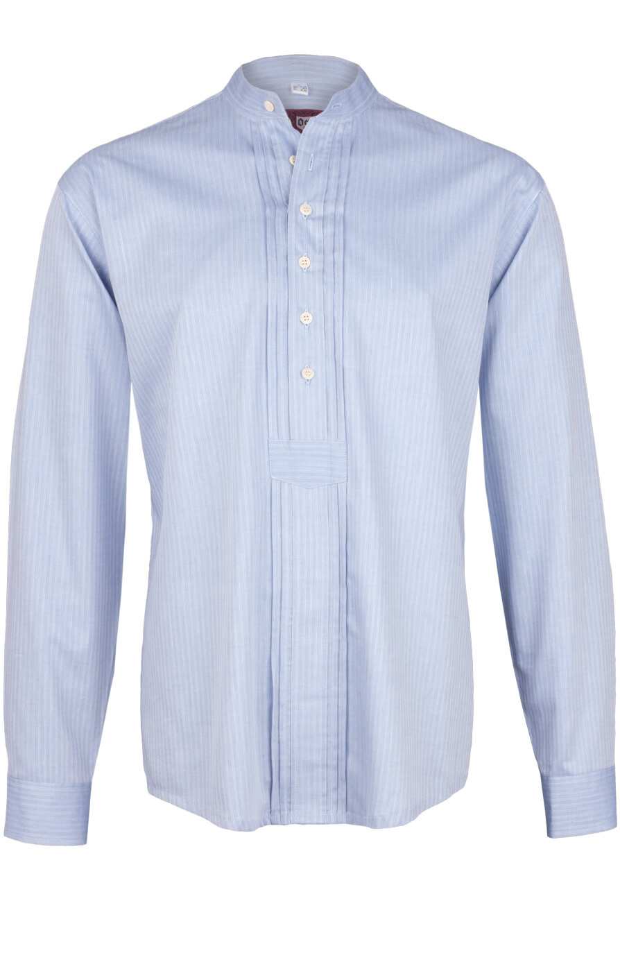 weitere Bilder von German traditional shirt 920001-3485-41 lightblue