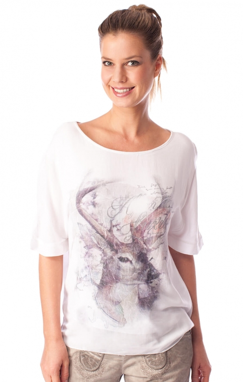 Traditional T-Shirt BERIT white