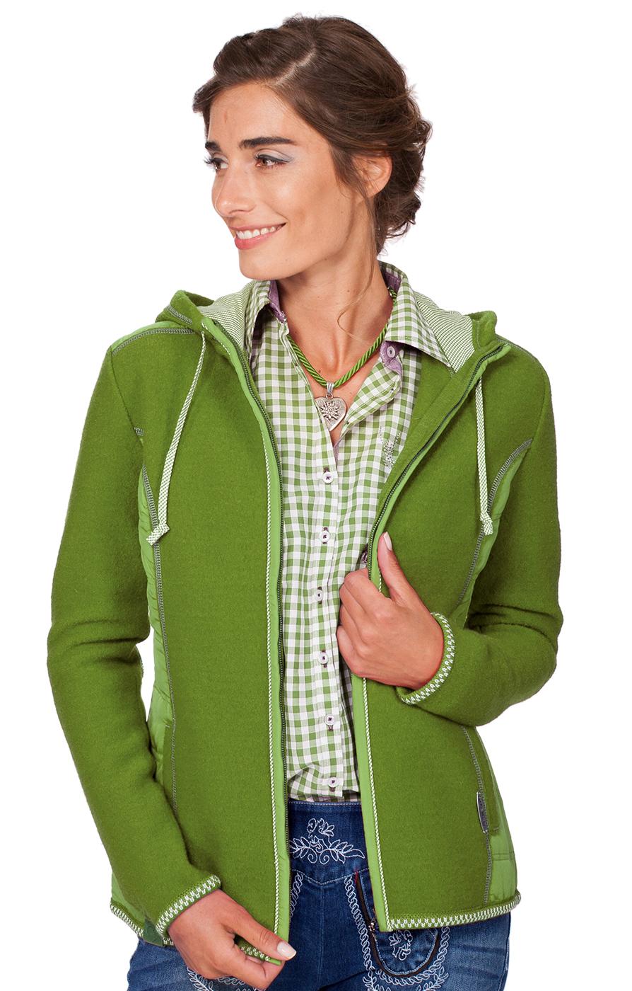 Traditional Jacket Friesland green von Spieth & Wensky
