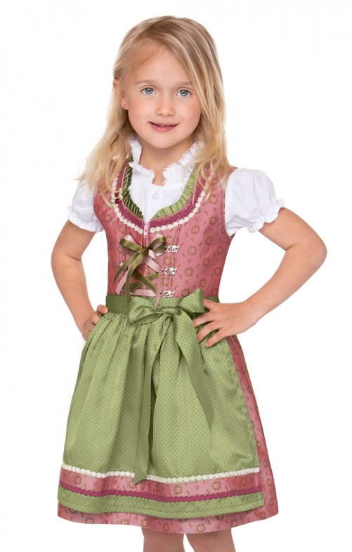 Traditional Children dirndl SUKI pink