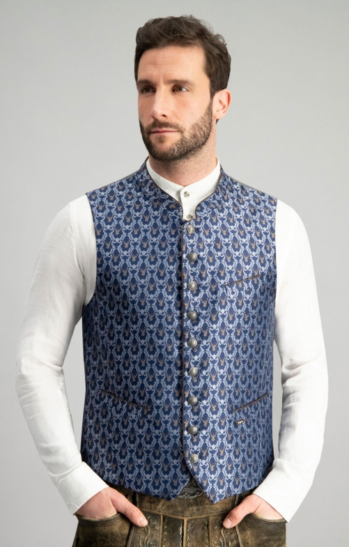 Tradition vest NEMO blue