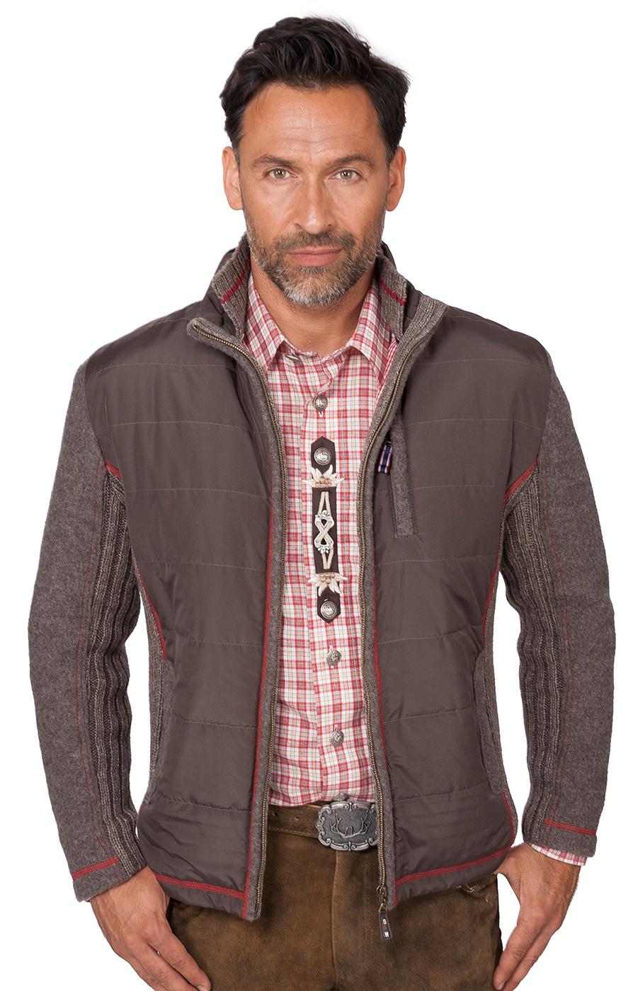 Traditional waistcoat Falkmar dark brown von Spieth Wensky