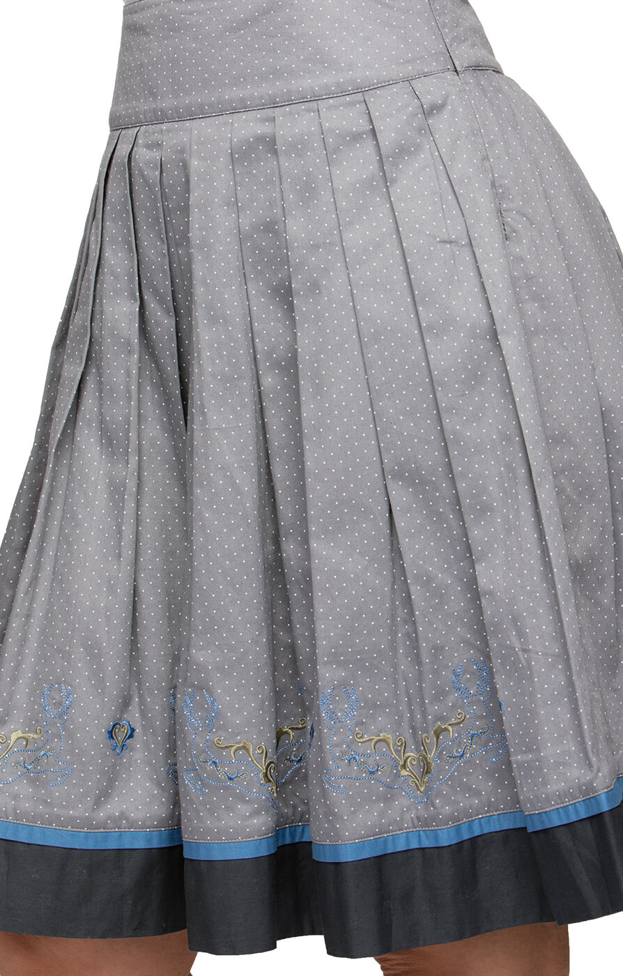 Traditional skirt MATEJA gray von Stockerpoint