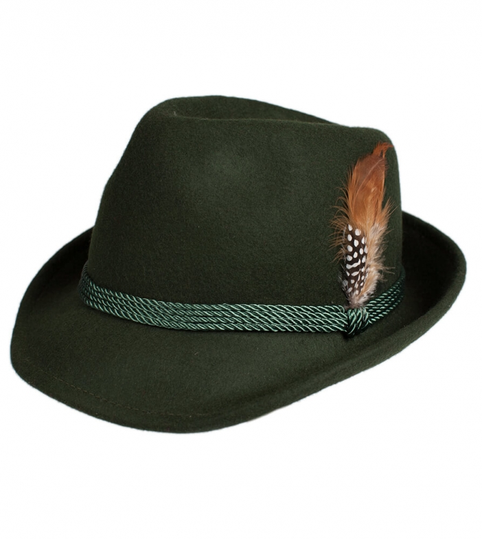 Costume hat HT750 with feather forest