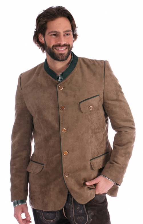 German traditional jacket KOGEL brown