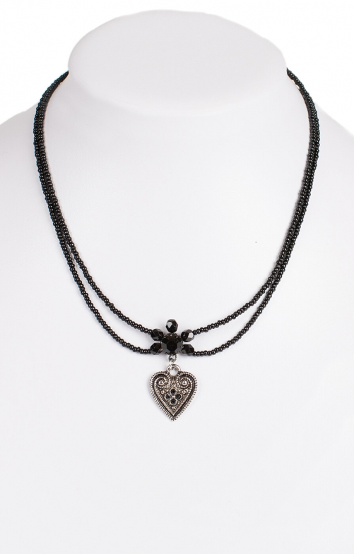 Traditional necklace 13007-2044 black