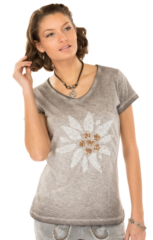 Trachten Shirt MISSYgray