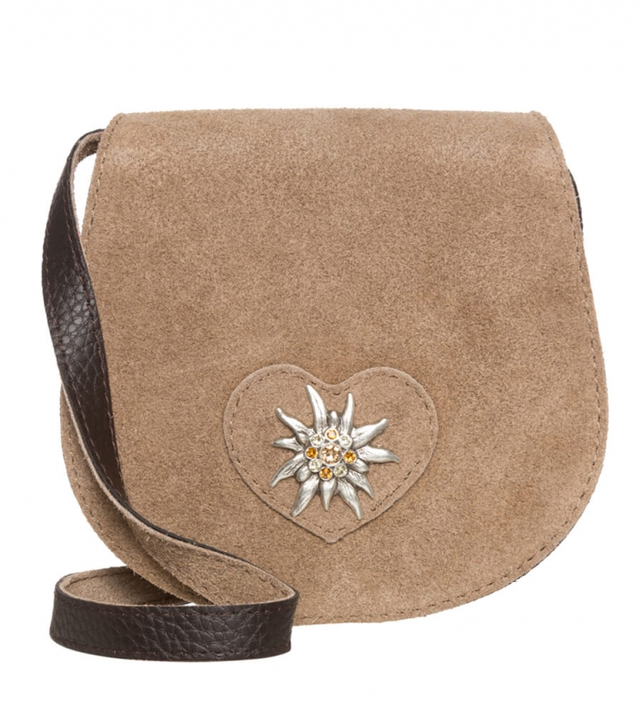 Traditional dirndl bag TA30340-9196 greybrown