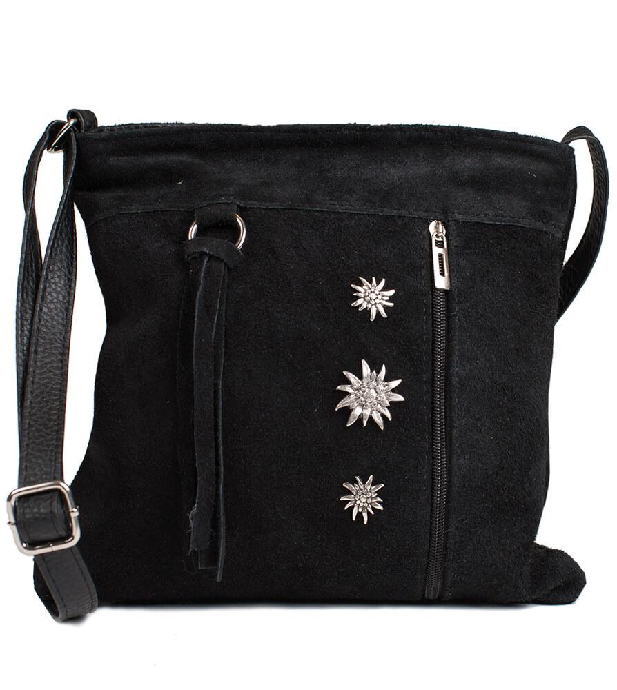 Traditional dirndl bag TA30300-3, schwarz von Schuhmacher