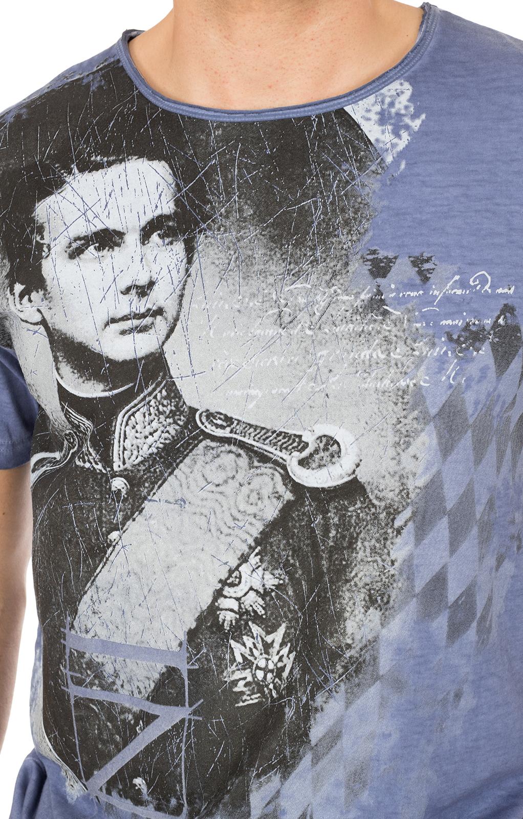 weitere Bilder von Traditional German T-Shirt Wiggerl blue
