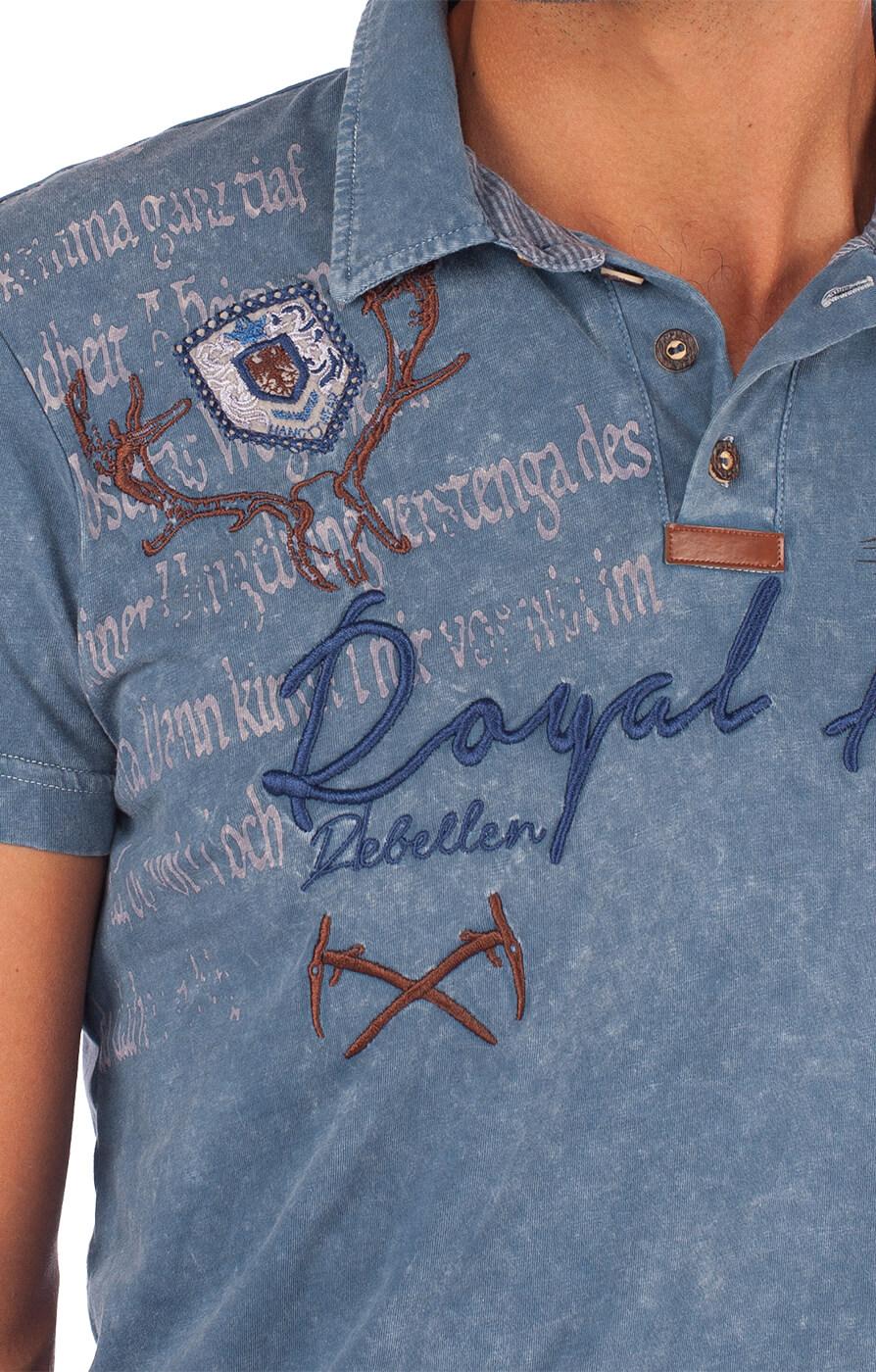 weitere Bilder von Traditional German T-Shirt Dirk blue