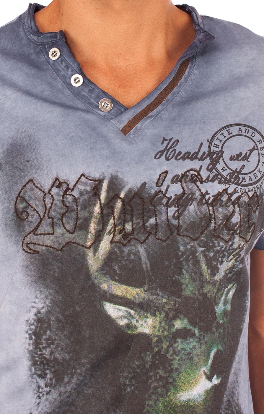 weitere Bilder von Traditional German T-Shirt Uberto blue