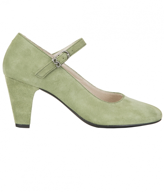 Traditional shoes 6055 green